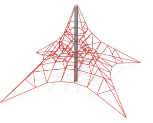 Rope net range