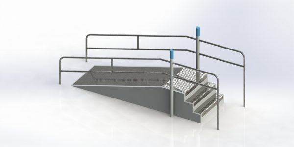 denfit stairs and ramp