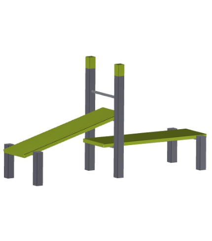 Denfit outdoor fitness street workout