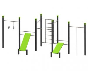 Denfit outdoor fitness street work out