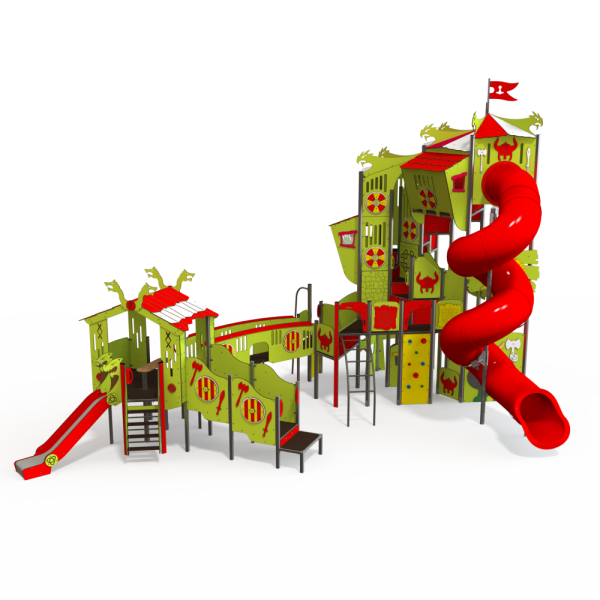 Qualicite themed playground