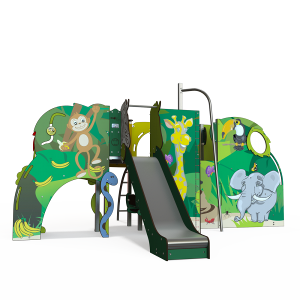 Qualicite jungle themed playground