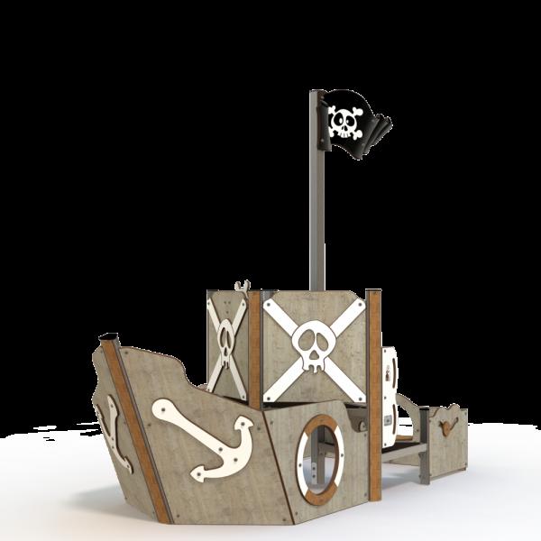 Qualicite pirate ship themed playground