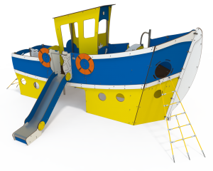 Qualicite tug boat ship themed playground