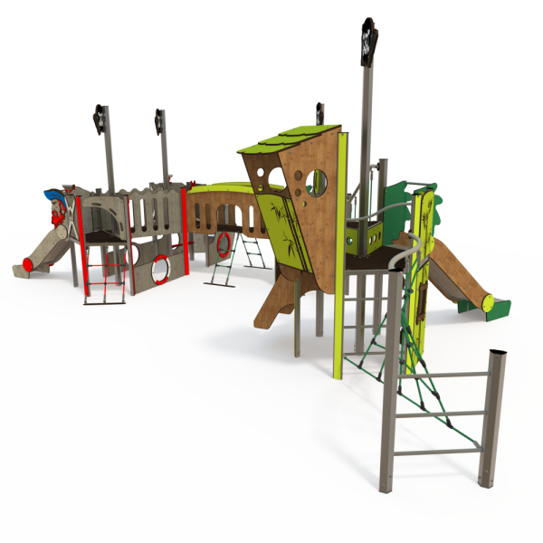 Qualicite themed playground