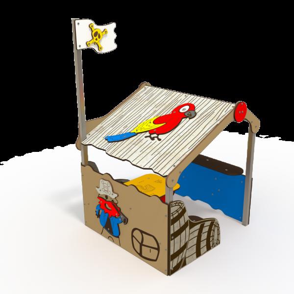 Qualicite pirate themed playground