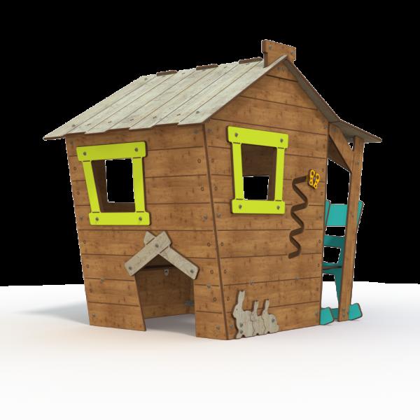 Qualicite farm house themed playground
