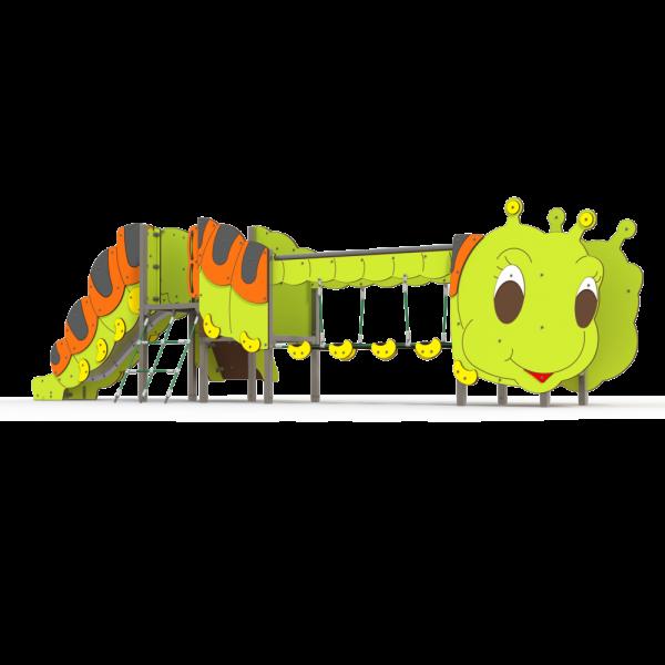 Qualicite caterpillar garden themed playground