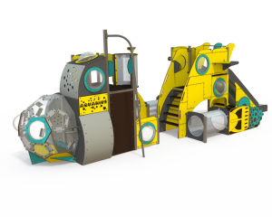 Qualicite submarine themed playground