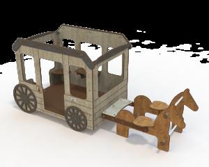 Qualicite horse farm themed playground