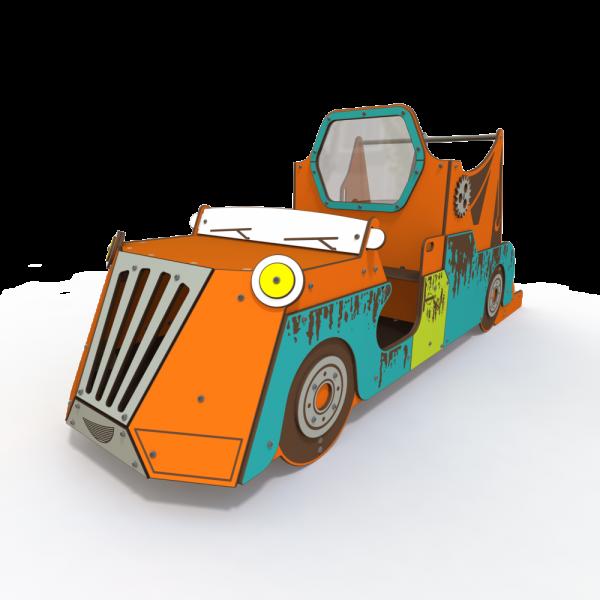 Qualicite classic car themed playground