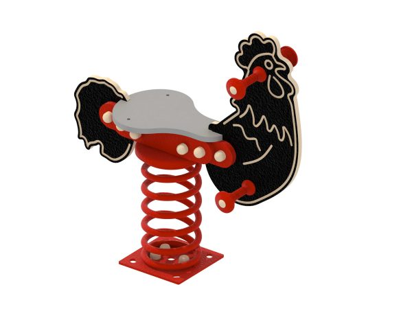 rooster spring toy