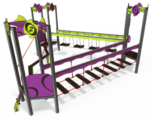 qualicite playground obstacle course