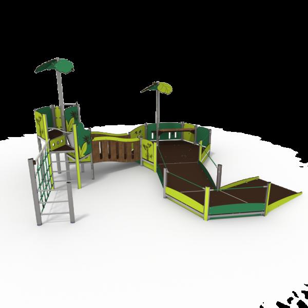 qualicite inclusive accessible playground unit