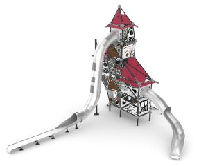 cemer witch theme tower playground