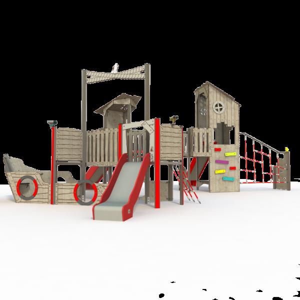 Qualicite ship themed playground