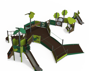 qualicite inclusive accessible playground unit