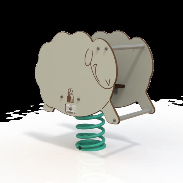 sheep spring toy