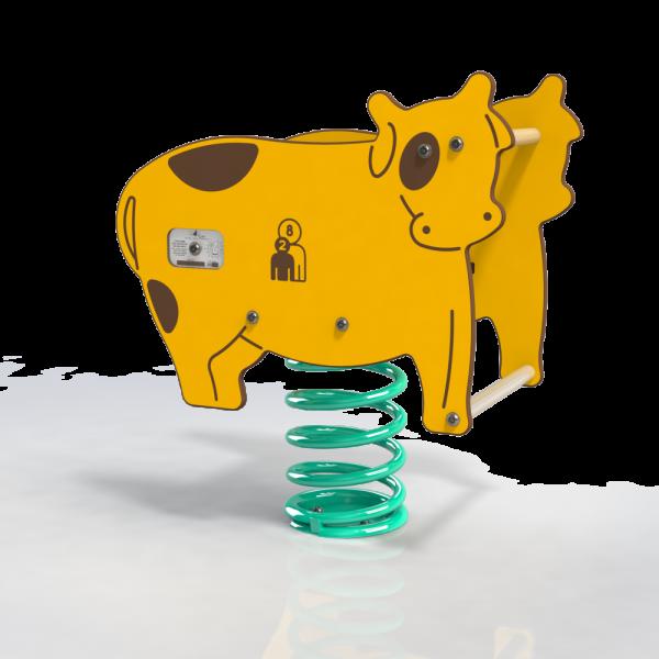 farm cow spring toy