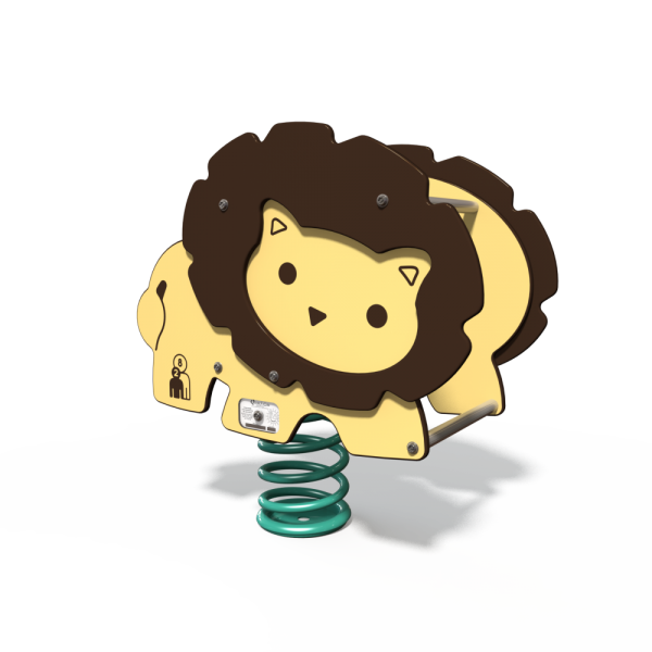 lion spring toy