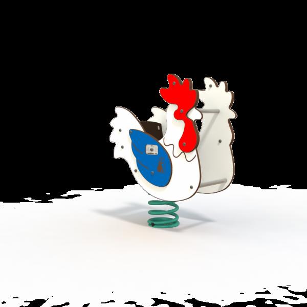 farm chicken spring toy