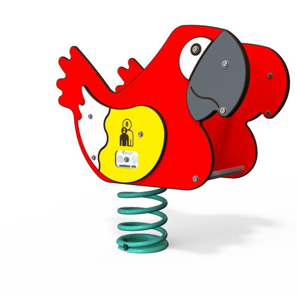 parrot spring toy