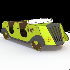Classic Car Themed Playground