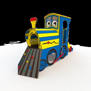 Themed Train Playground